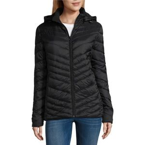 NWT Xersion Lightweight Puffer Jacket in Black
